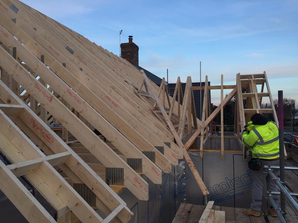 timber roof builders
